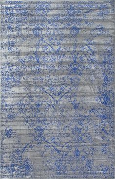 Favorite Budget Friendly Blue Vintage Rugs | blesserhouse.com