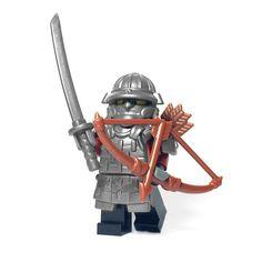 This custom LEGO® sword is just as dangerous as the real thing. Lego Minecraft, Samurai Swords, Custom Lego, Katana, Blacksmithing, Brick, Steel, Toys, Lego Minifigure