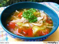 Tukožroutská polévka Liquid Detox, Dieta Detox, Detox Plan, Natural Detox, Thai Red Curry, Food And Drink, Soup, Vegan, Baking