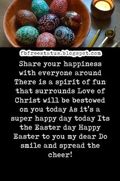 Easter Blessings Wishes and easter wishes greetings images Stay Happy, Happy Day, Are You Happy, Greetings Images, Wishes Images, Easter Quotes, Easter Wishes, Happy Easter Day, Wishes Messages