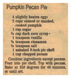 Recipe Clipping For Lazy Man's Peach Pie. self-rising flour margarine sugar buttermilk can peaches vanilla. Yummy Recipes, Peach Pie Recipes, Retro Recipes, Old Recipes, Vintage Recipes, Cake Recipes, Dessert Recipes, Cooking Recipes, Lazy Man Peach Cobbler Recipe