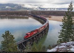 RailPictures.Net Photo: CP 2323 Canadian Pacific Railway EMD GP20C-ECO at Creston, British Columbia, Canada by Matthew Robson (www.elevation-media.com)