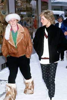 Princess Diana and Duchess of York