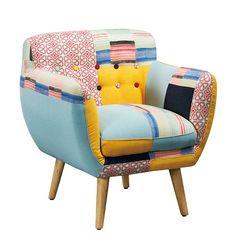 ultra tendance osez le fauteuil lula pour amener de la couleur et de la gaiet dans votre maison en plus de son design irrsistible le fauteuil lula - Chaise Eleven Patchwork Colors