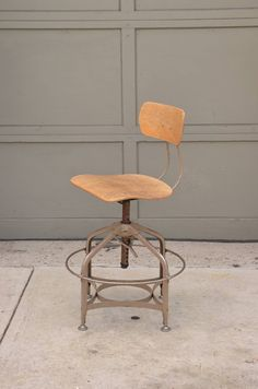 View this item and discover similar for sale at - Rare set of 4 Vintage Adjustable Swiveling Toledo Bar Stools. Stools at max height: Seat height: Stools at Restoration Hardware Dining Chairs, Home Depot Adirondack Chairs, Comfortable Accent Chairs, Stools With Backs, Chairs For Small Spaces, Bar Stools, Comfy, Furniture, Vintage