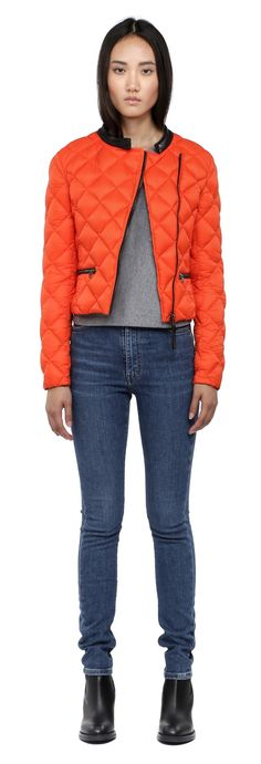 Mackage - ZADIE POPPY LIGHT DOWN QUILTED JACKET FOR WOMEN