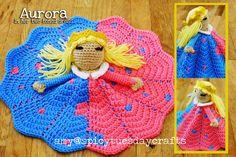 Aurora Princess Lovey FREE Crochet Pattern