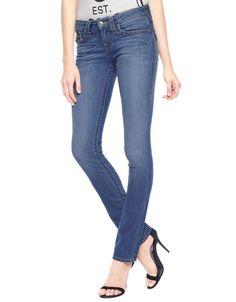 True Religion Women's Low Rise Slim Straight Jean Size 26 in Savage NWT #TrueReligion #StraightLeg