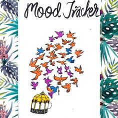 Dozens of Gorgeous Mood Trackers That Will Make Your Soul Smile Arc Planner, Passion Planner, Erin Condren Life Planner, Happy Planner, Bullet Journal Tracker, Bullet Journal Mood, Bullet Journal How To Start A, Bullet Journals, Calligraphy For Beginners