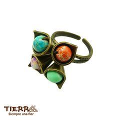 Mezcla de Naturaleza en la joyería de TIERRA Nature mixture with TIERRA Jewelry
