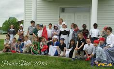 Our 2nd graders took a trip to Prairie School to experience what life was like in another time period!