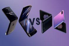 Motorola Moto Razr vs Samsung Galaxy Z Flip: Folding phone face off Painting Logo, Flip Phones, Face Off, Coffee Love, Retro Design, Flipping, Galaxies, Smartphone, Tecnologia