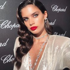 "224.6k Likes, 1,118 Comments - Sara Sampaio (@sarasampaio) on Instagram: ""Couture night in diamonds 😍💎💎💎 @chopard"""