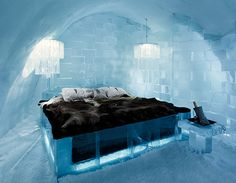 Ice hotel in Jukkasjarvi, Sweden for a romantic and different luxury getaway