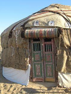 Yurt Door | Kyzyl Kum Desert, Uzbekistan.