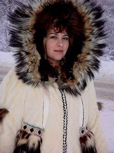 Fur Parka by Inupiaq artist Kathleen Westlake