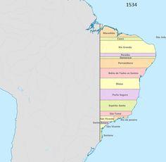 Evolução Territorial do Brasil