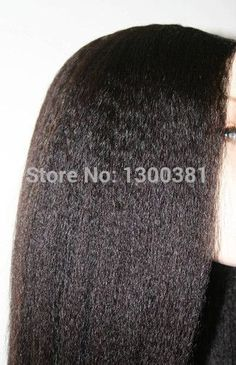 Find More Wigs Information about Free Shipping Virgin Unprocessed Human Hair Brazilian Kinky Straight U Part Wig,130% 150% Density All Length IN STOCK,High Quality hair fall wig,China wig human hair Suppliers, Cheap hair extensions half wig from Gorgeous Summer Hair Store on Aliexpress.com