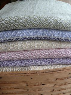 Handwoven Baby Blankets by Kelly Knight