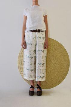 Daniela Gregis large jeans trousers