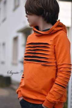 eBook & # TeenieMe & # - Moletom com capuz Pulli Gr. Sewing Kids Clothes, Sewing For Kids, Baby Sewing, Diy Clothes, Outfits Niños, Fashion Outfits, Sweat Hoodie, Pullover Hoodie, Creation Couture