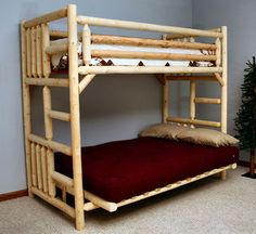 Wood Futon Bunk Bed Plans Home James S Acosta