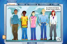 Português Língua Estrangeira | Página criada para partilhar materiais, actividades e outros assuntos ligados ao PLE.