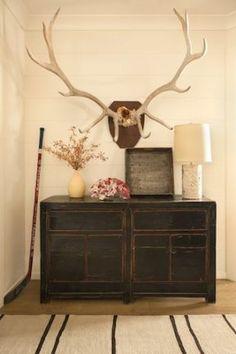 Elk antlers for N's room… High Street Market