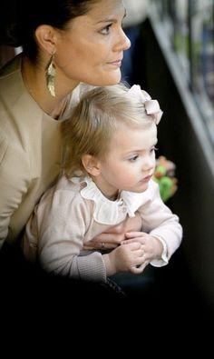 Princess Estelle and Princess Victoria