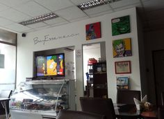 Bay Essence: Comidas con Onda: Café Cómics