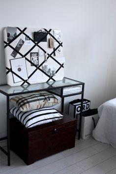 homevialaura | Gauhar | notice board | memory board | home interior