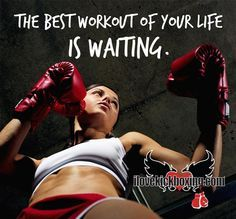 The best workout of your life is waiting for you at www.ilovekickboxing.com!  #ilovekickboxing