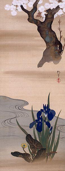 SAKAI Hoitsu (1761~1828), Japan 酒井 抱一