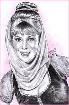 I Dream Of Jeannie by rivertem.deviantart.com on @deviantART