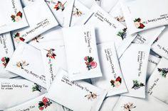Packaging developed by Victor Design for tea brand Daebeté's new floral Scented Tea range