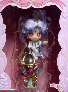 2X BANDAI Sailor Moon Keychain Key Chain Figure Toy A2