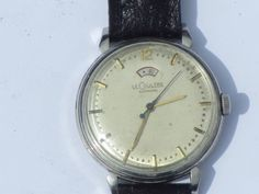 Gents Vintage LeCoultre Automatic Wrist Watch with Power Reserve Indicator Omega Watch, Watches, Accessories, Vintage, Wristwatches, Clocks, Vintage Comics, Jewelry Accessories