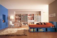 Ultra modern bedroom design you need to have. Feed your design ideas with over thirty five modern bedroom ideas for your perfect bedroom. Kids Bedroom Furniture Design, Room Interior Design, Bedroom Ideas, Furniture Ideas, Bedroom Decor, Bedroom Rugs, Modern Furniture, Master Bedroom, Bedroom Wall