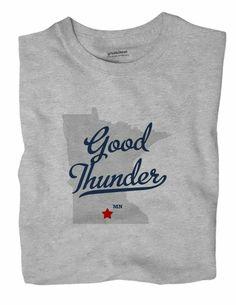 Good Thunder Minnesota MN T-Shirt MAP - Thunder - Ideas of Thunder gift #Thundergift County Map, Thunder And Lightning, Minnesota, Digital Prints, Sweatshirts, Fabric, T Shirt, Ideas, Gift