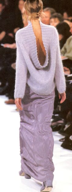 """ Ann Demeulemeester Fall/Winter 1995 """