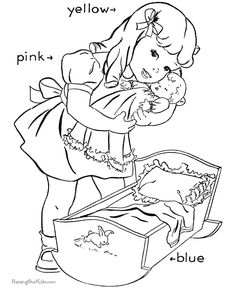 Free coloring pages for church preschoolers ~ free preschool sunday school coloring pages church | Bible ...
