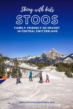 Skiing with kids: Stoos