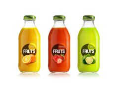 Fruts Juice by Rafael Serpa, via Behance #packaging #design