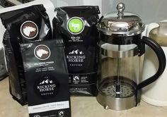 Kicking Horse Ground Coffee | Homemade Christmas Recipes Resources | https://homemaderecipes.com/homemade-christmas-recipes-2/