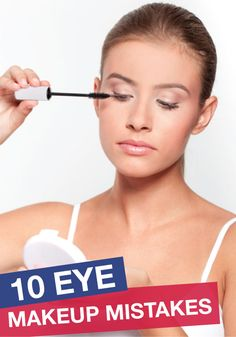 Guilty of an eye makeup slip-up here and there? Here's how to solve it.