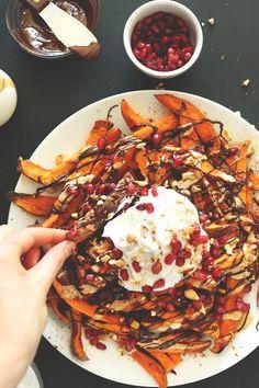 Sweet Potato Dessert Fries by Minimalist Baker—dessert, or very decadent dinner? You decide.