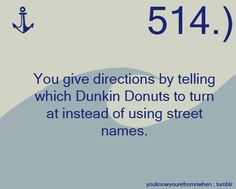 I used to. Now I have to actually use street names and numbers.