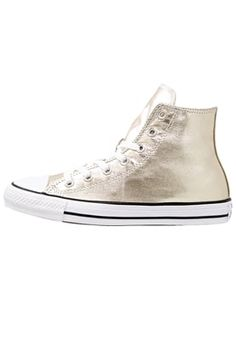 CHUCK TAYLOR ALL STAR - Sneakers alte - light gold/white/black
