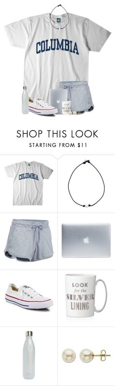"""""""bored out of my mind """" by jeh-shev ❤ liked on Polyvore featuring Columbia, Under Armour, Incase, Converse, Kate Spade, S'well and Lord & Taylor"""