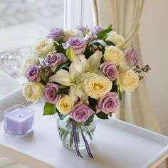 Lilac Rose & Lily Extra Large #nextflowers